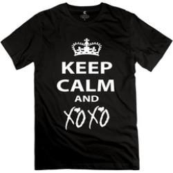 Gerta Keep Calm And XoxoTs Adult Tee