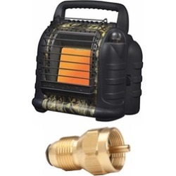 Mr. Heater Portable Heater w/ Propane Tank Refill Adapter