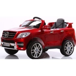Electric 6V car Mercedes ML350 Ride on For Kids w/RC Red - red