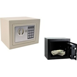 Electronic Digital Deposit Keypad Lock Security Safe For Home & Office found on Bargain Bro India from groupon for $49.00
