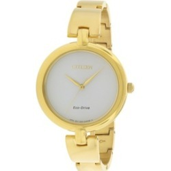 Citizen Eco-Drive Silhouette Ladies Watch EM0222-82A found on MODAPINS from groupon for USD $136.17