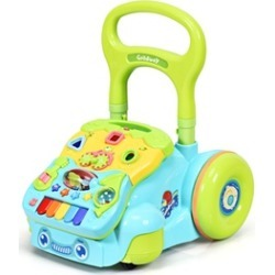 Baby Sit-to-Stand Learning Walker Toddler Activity Musical Toy PinkBlue