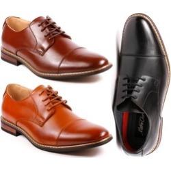 Metrocharm Alex-04 Men's Lace Up Cap Toe Oxford Dress Shoes