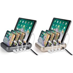 Merkury Innovations 4-Port Charging Station for Mobile Devices