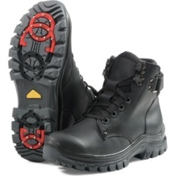 MIDA Boys And Girls Winter Boots For Kids Leather And Fur Waterproof