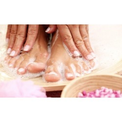 Pedi or Gel Manicure and Spa