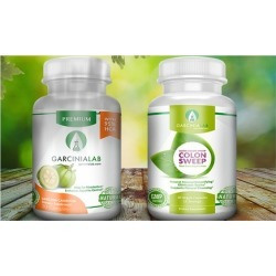 Garcinia Cambogia & Colon Cleanse Detox Weight Loss Supplement