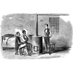 John Brown Raid 1859. Nthree Of John Brown'S Band In Their Jail Cell At Charles
