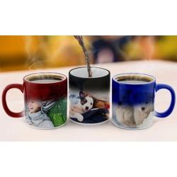 Full Color Personalized Photo Mug or Magic Photo Mug from CanvasOnSale (83% Off)