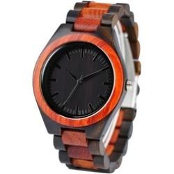 Wood Watch Edmond Series Mens Womens Sandalwood Wooden Wrist Watch