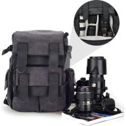 CADEN M5 Travel Double Shoulder DSLR SLR Camera Bag Laptop Backpack For Canon