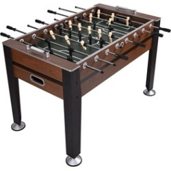 """Costway 54"""" Foosball Soccer Table Competition Sized Indoor Game"""