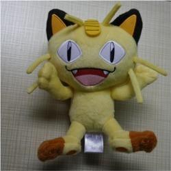 Pokemon Meowth plush stuffed animal doll toy