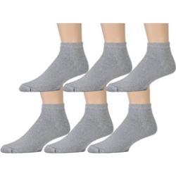 6 Pairs Value Pack of Wholesale Sock Deals Mens Ankle Socks