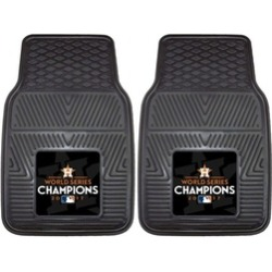 Houston Astros 2017 World Series Champions Heavy Duty Car Mats