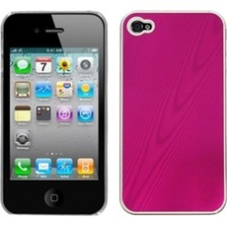 Insten Hot Pink Cosmo Back Case For iPhone 4 4S