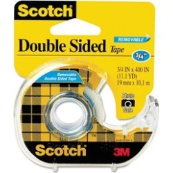 3M 667 667 Double-Sided Removable Office Tape & Dispenser