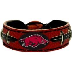 Sports Team Color NCAA Gamewear Leather Football Bracelet