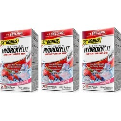 Hydroxycut Pro Clinical Instant Drink Mix Weight Loss Supplement (1, 2, or 3-Pack)