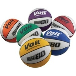 Voit 1307030 Lite 80 Prism Intermediate Size Basketballs Pack of 6