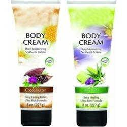 Deep Moisturizing Body Creams Enriched With Aloe Vera & Cocoa Butter
