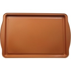 Copper Infused Non Stick Induction Base Baking Tray Pan Oven Safe