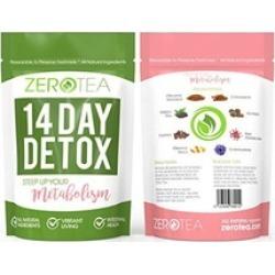 14 Day Detox Tea, Weight Loss Tea, Teatox Herbal Tea For Cleanse