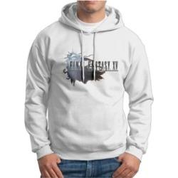 Final Fantasy XV Online Nerd Hooded Sweatshirts For Men