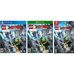 LEGO Ninjago Movie Video Game for PlayStation 4, Xbox One, or Nintendo Switch