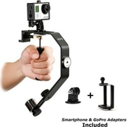 Movo Video Stabilizer System w/ Counterweights for GoPro & Smartphone