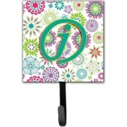 Carolines Treasures CJ2011-JSH4 Letter J Flowers Pink Teal Green Initial Leash