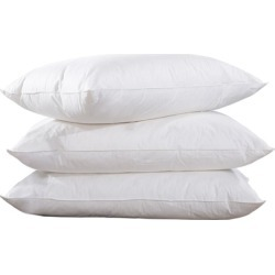 Hotel Signature 100% Cotton Feather Down Pillow (2-Pack)