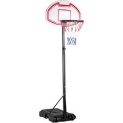 6-8 Ft Adjustable Kids Basketball Hoop System Portable Stand w/Wheel