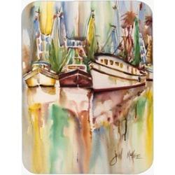 Carolines Treasures JMK1157LCB Ocean Springs Deep Sea Fishing Boats Glass Cuttin