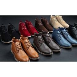 Gino Pheroni Men's Chukka Boots