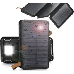 Solar Panel External Battery Charger Cell Phone Power Bank 500000mAh
