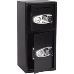 Double Door Digital Safe Cash Depository Drop Box Office Security Lock found on Bargain Bro India from groupon for $179.78