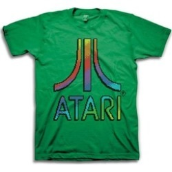 Atari Mens Gaming Throwback Vintage Video Game Tee