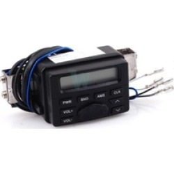 Motorcycle Bike Sound Audio FM Radio