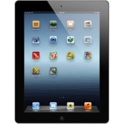 """Apple iPad 4 16GB or 32GB WiFi Tablet with 9.7"""" Retina Display and MFi-Certified Lightning Cable (Refurbished A-Grade)"""