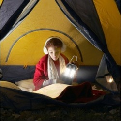 portable Collapsible LED Outdoor Lantern Light