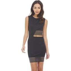 AX Paris Mesh Insert Cut Out Dress