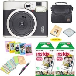 Fujifilm instax mini 90 Instant Film Camera, 20 Instax Film, And Accessories