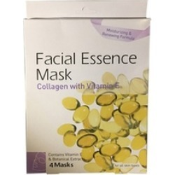 Facial Essence Mask Collagen & Vitamin E & Essential Botanical Extract