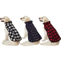 Eddie Bauer Plaid Dog Jackets