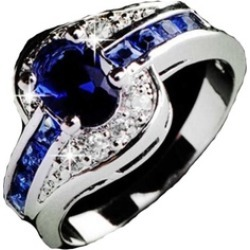Silver Plated Wedding Ring found on MODAPINS from groupon for USD $10.99