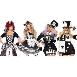 Leg Avenue Dark Wonderland Costumes