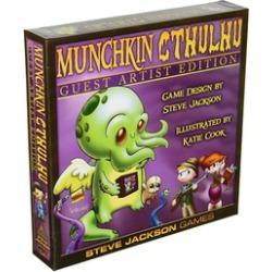 Steve Jackson Games SJG1516 Munchkin Cthulhu - Guest Artist Edition