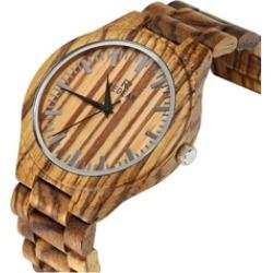 Watch Analog Quartz Lightweight Handmade Wood