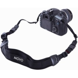 Movo Shock-Absorbing Padded Neoprene Quick Release Camera Neck Strap